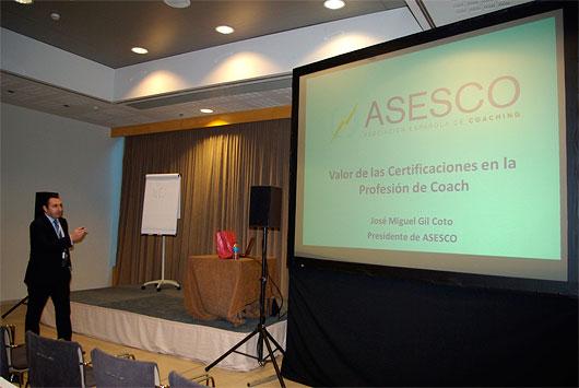 coaching ASESCO participa en el COACH CONGRESS en Barcelona