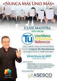 Clase Maestra online